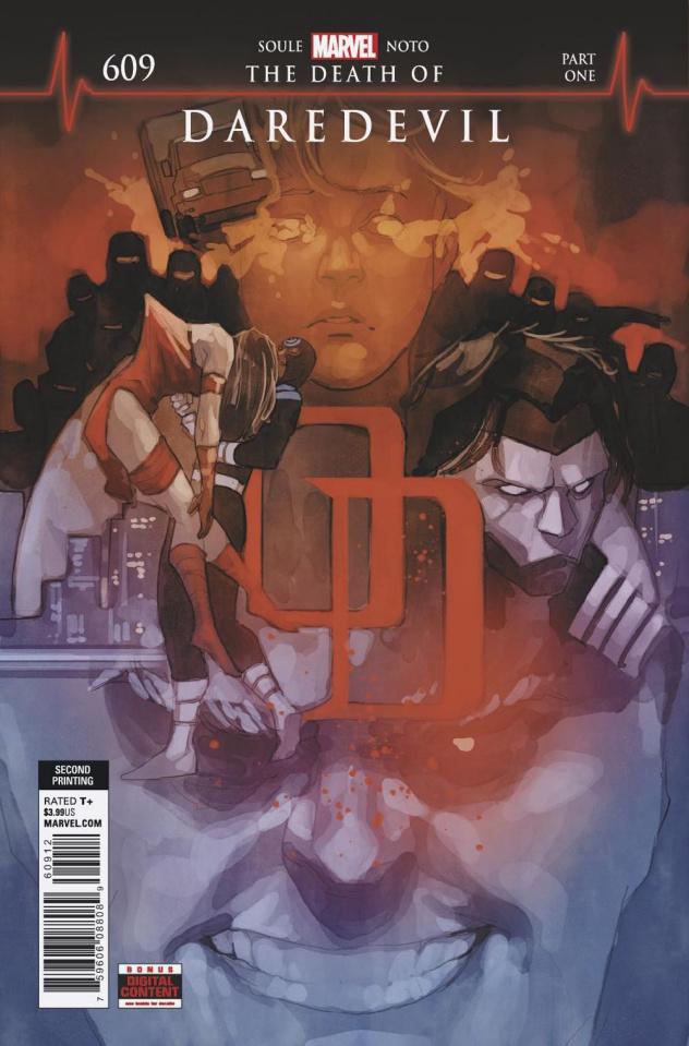 Daredevil #609 (Noto 2nd Printing)
