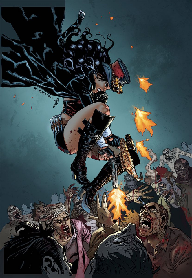 Grimm Fairy Tales: Van Helsing vs. Frankenstein #1 (Ortiz Cover)