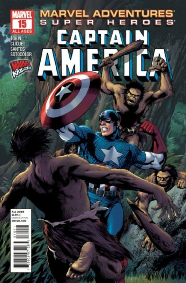 Marvel Adventures: Super Heroes #15
