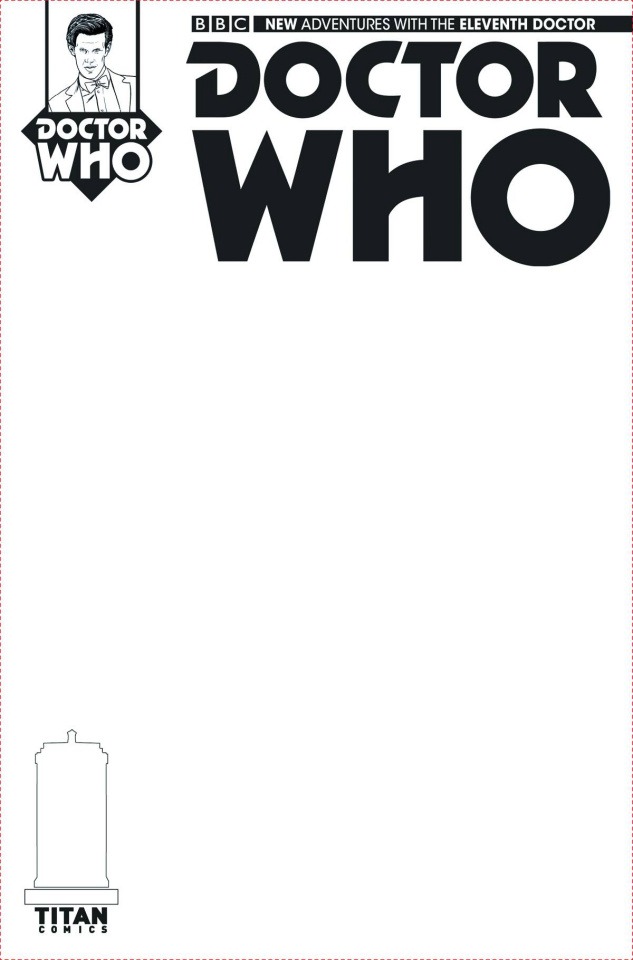 Doctor Who: New Adventures with the Eleventh Doctor #1 (Blank Sketch Cover)