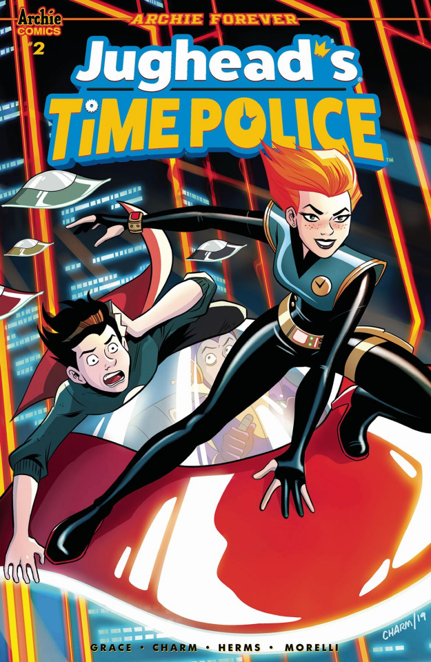 Jughead's Time Police #2 (Charm Cover)