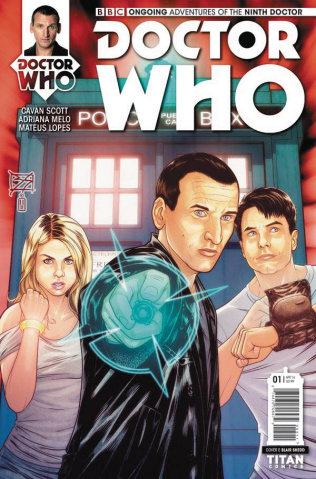 Doctor Who: New Adventures with the Ninth Doctor #1 (Shedd Cover)