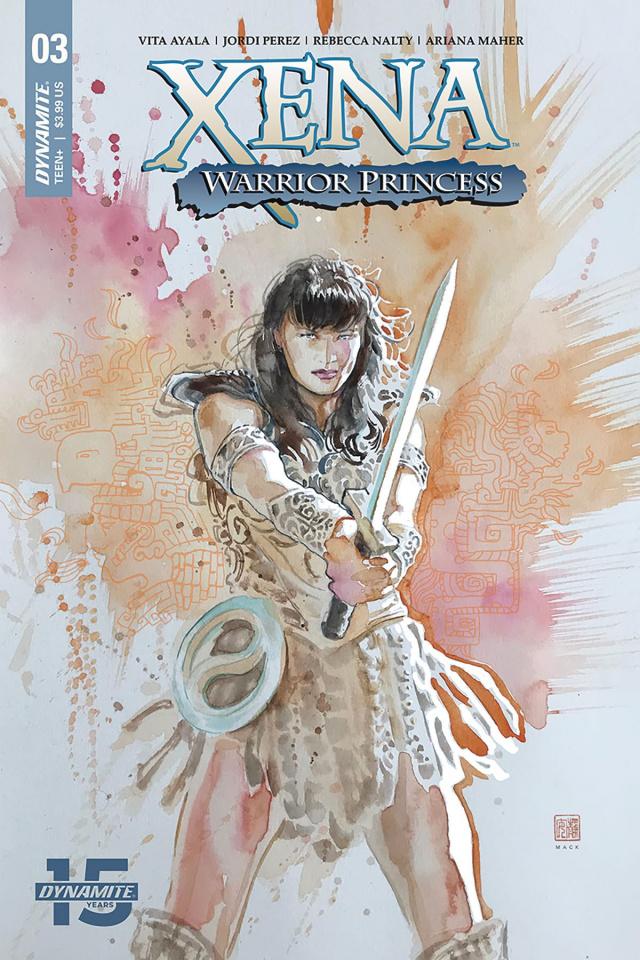 Xena: Warrior Princess #3 (Mack Cover)