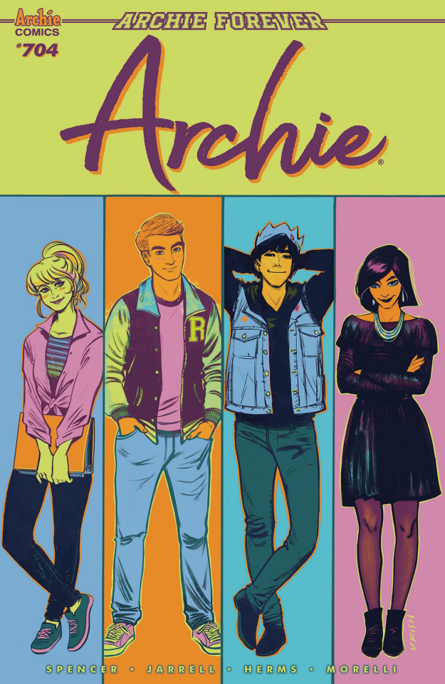 Archie #704 (Fish Cover)