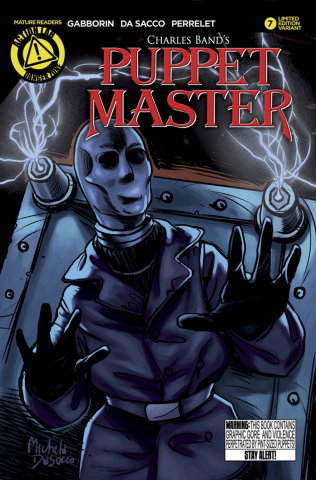 Puppet Master #7 (Decapitron Cover)
