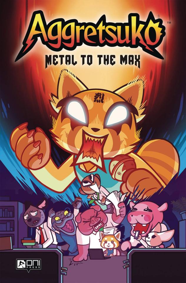 Aggretsuko Vol. 1: Metal to the Max