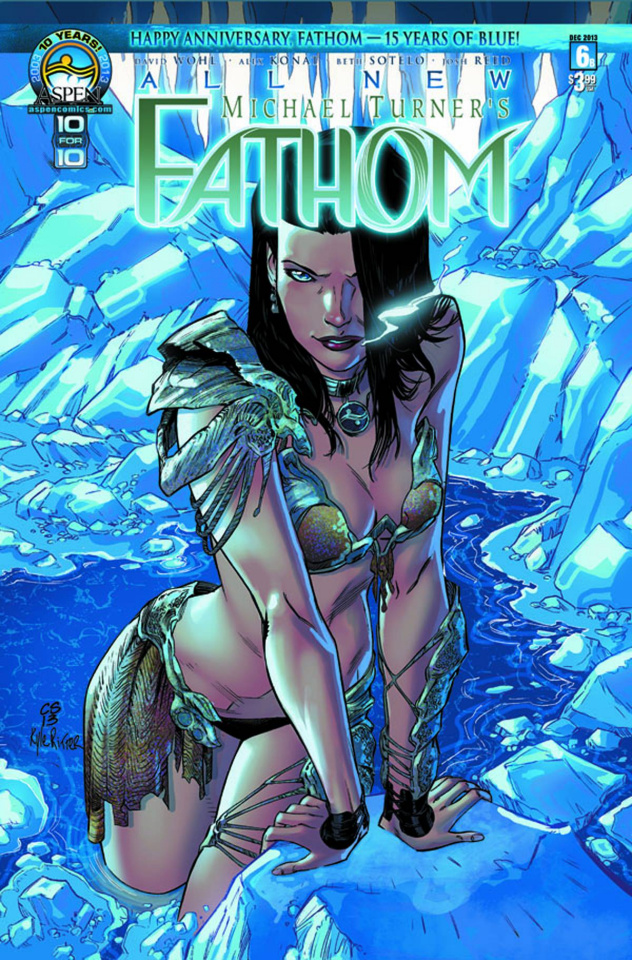 All New Fathom #6 (Cover B)