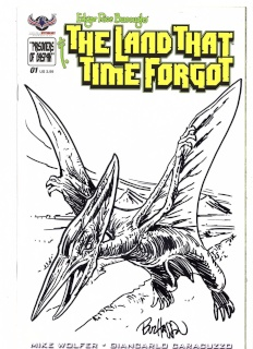 The Land That Time Forgot #1 (Hand Drawn Sketch Cover)