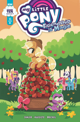 My Little Pony: Friendship Is Magic #95 (10 Copy Erin Hunting Cover)