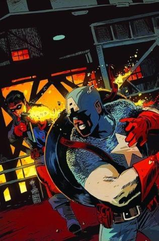 Captain America & Bucky #626