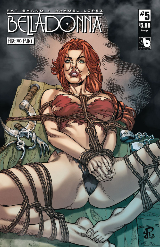 Belladonna: Fire and Fury #5 (Bondage Cover)