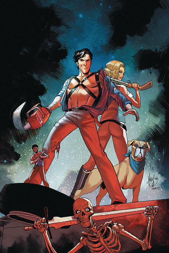Death to the Army of Darkness #1 (Andolfo Virgin Cover)