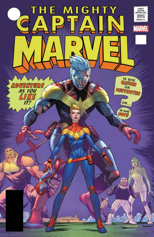 Captain Marvel #125 (Mora Cover)