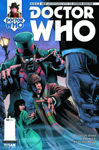 Doctor Who: New Adventures with the Fourth Doctor #2 (Williamson Cover)