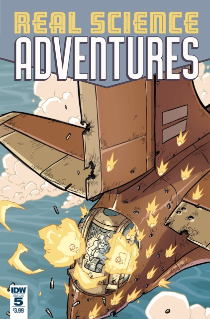 Real Science Adventures: The Flying She-Devils #5