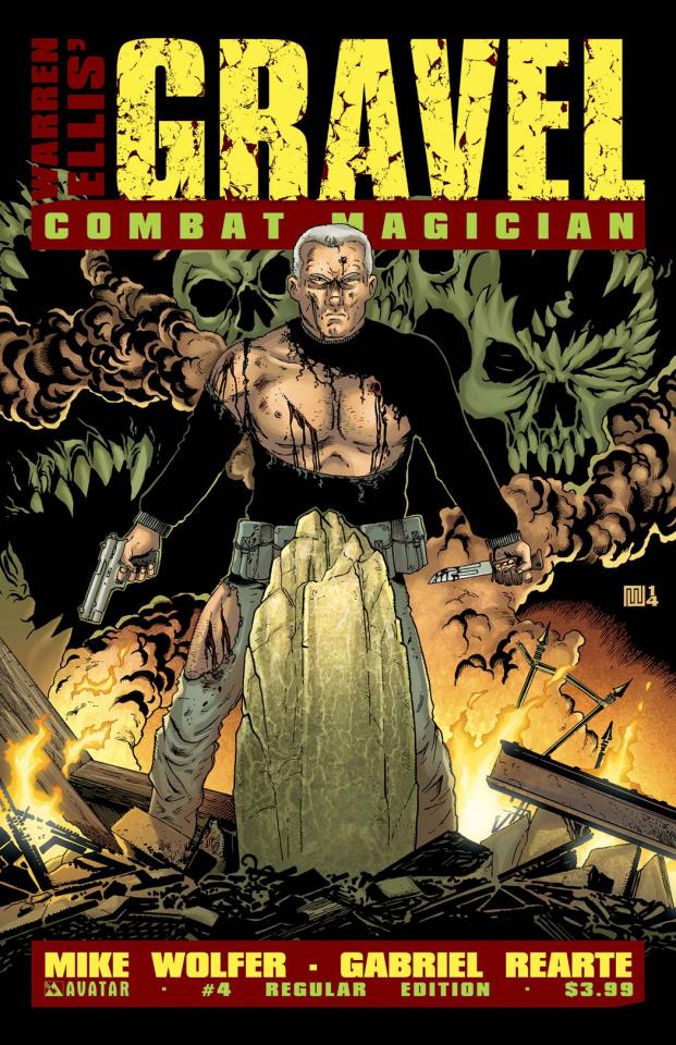 Gravel: Combat Magician #4