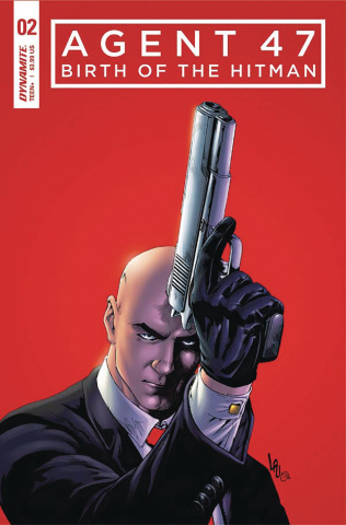 Agent 47: Birth of the Hitman #2 (20 Copy Virgin Cover)