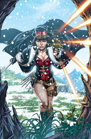 Grimm Fairy Tales: Van Helsing vs. The Werewolf #3 (Silva Cover)