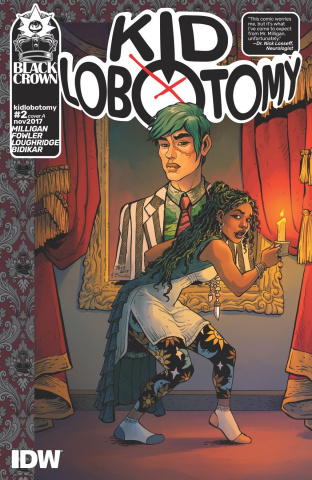 Kid Lobotomy #2 (Fowler Cover)