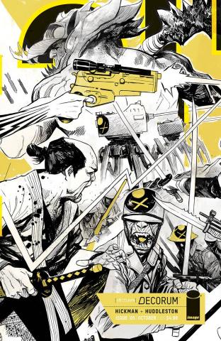 Decorum #5 (Huddleston Cover)