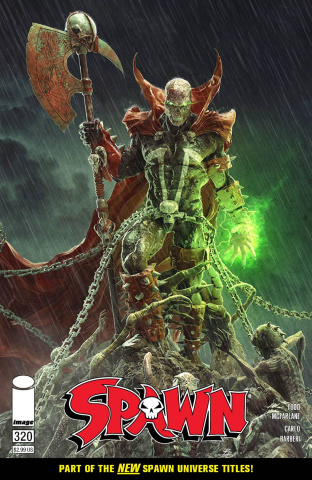 Spawn #320 (Barends Cover)