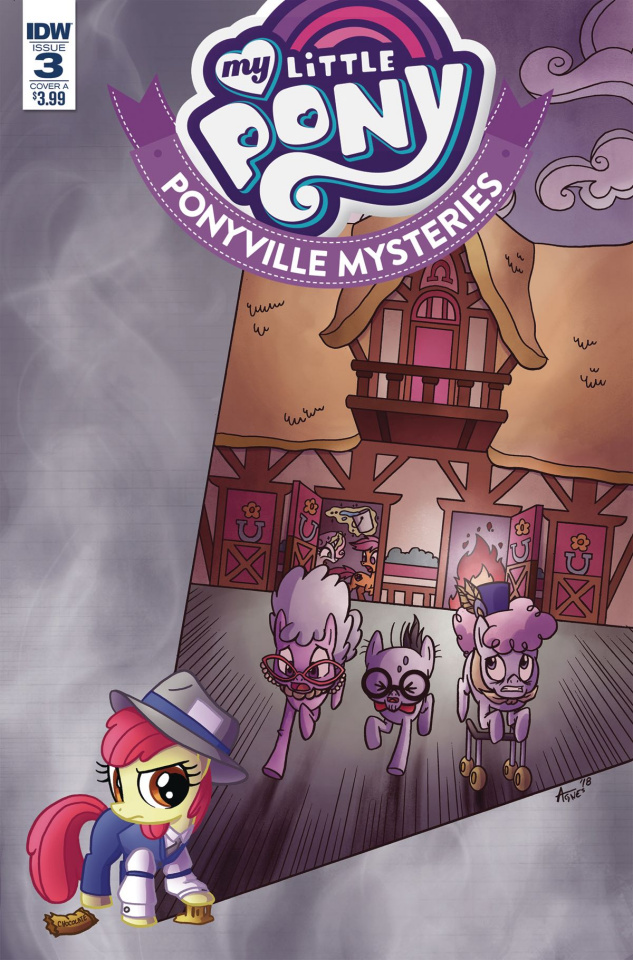 My Little Pony: Ponyville Mysteries #3 (Garbowska Cover)