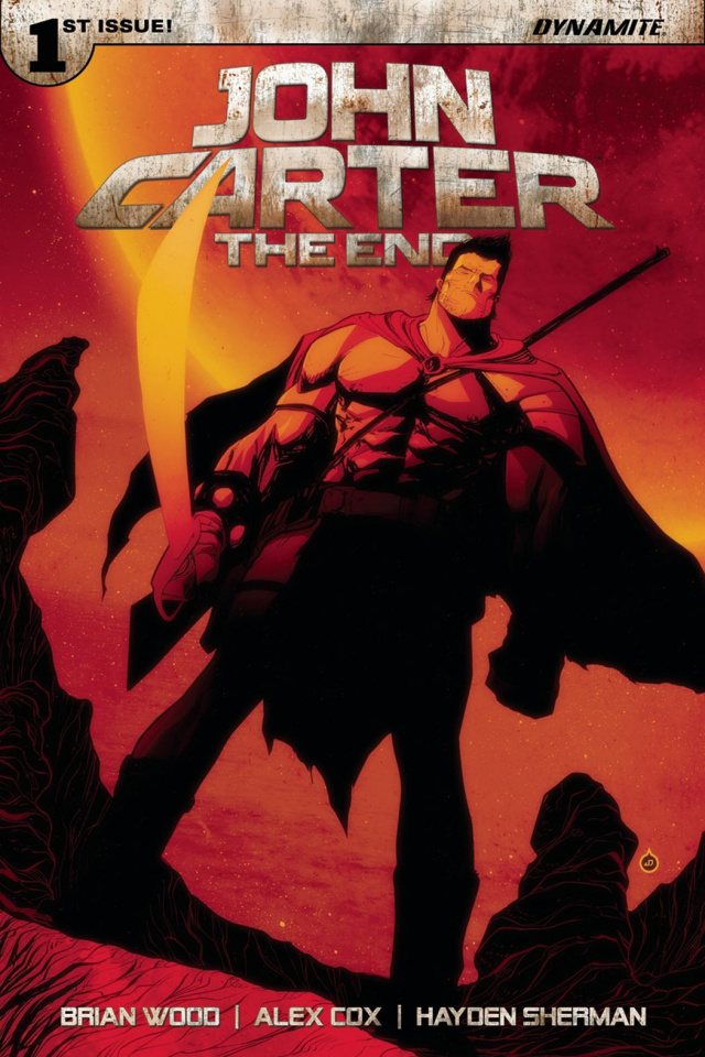 John Carter: The End #1 (Doe Cover)