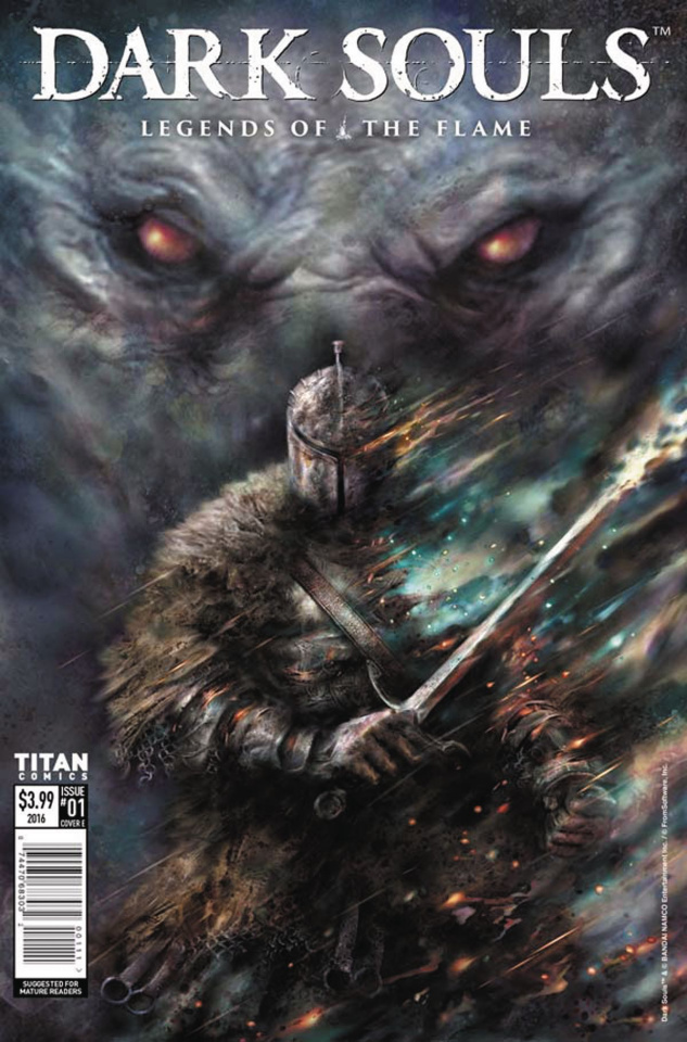 Dark Souls: Legends of the Flame #1 (Percival Cover)
