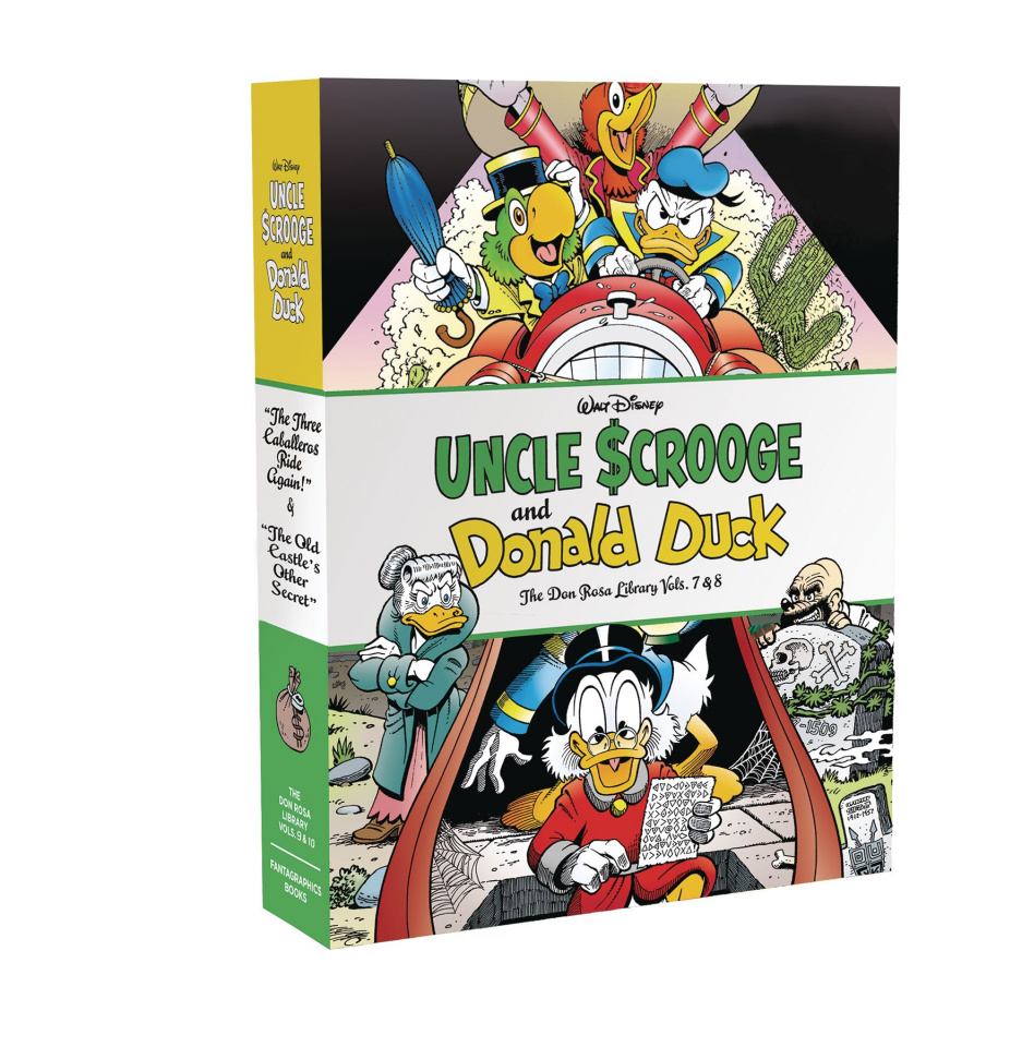 The Don Rosa Duck Library Vols. 9 & 10 (Box Set)