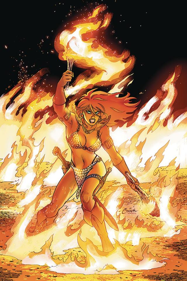 Red Sonja #5 (Conner Virgin Cover)