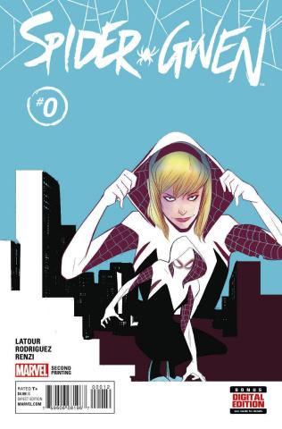 Spider-Gwen #0 (Rodriguez 2nd Printing)