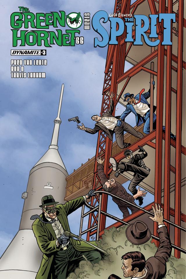 The Green Hornet '66 Meets The Spirit #3 (Templeton Cover)