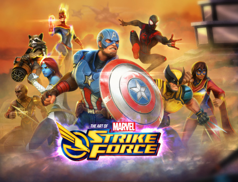Marvel Strike Force: Art of the Game