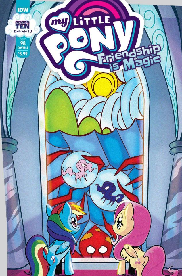 My Little Pony: Friendship Is Magic #98 (Akeem S Robert Cover)