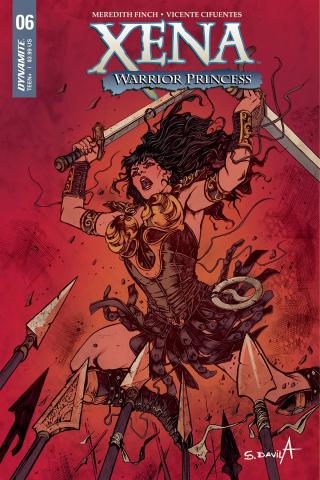 Xena #6 (Davila Cover)