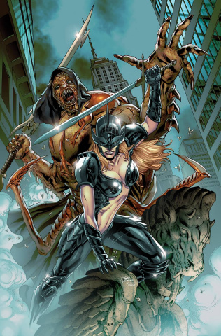 Grimm Spotlight: Black Knight vs. the Lord of Flies #1 (Vitorino Cover)