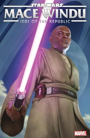 Star Wars: Mace Windu, Jedi of the Republic #1 (Rahzzah Cover)