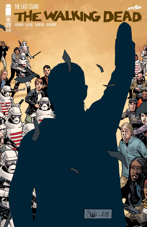 The Walking Dead #191 (2nd Printing)
