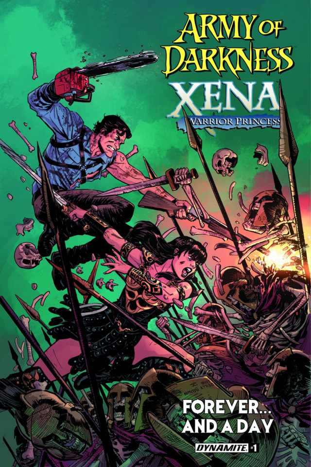 Army of Darkness / Xena: Forever... And a Day #1 (Brown Cover)