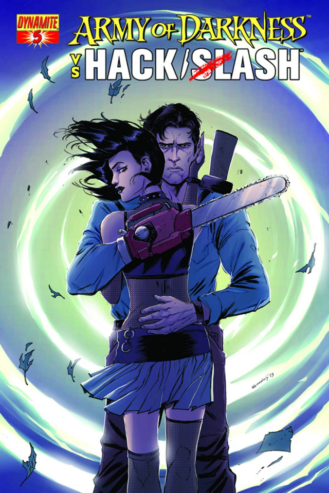 Army of Darkness vs. Hack/Slash #5 (Seeley Cover)