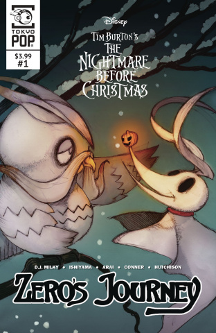The Nightmare Before Christmas: Zero's Journey #1 (Cover A)