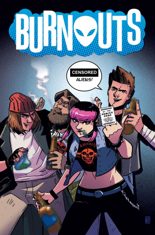 Burnouts #1 (CBLDF Charity Censored Cover)
