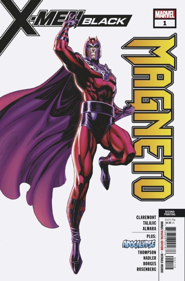 X-Men: Black - Magneto #1 (Campbell 2nd Printing)