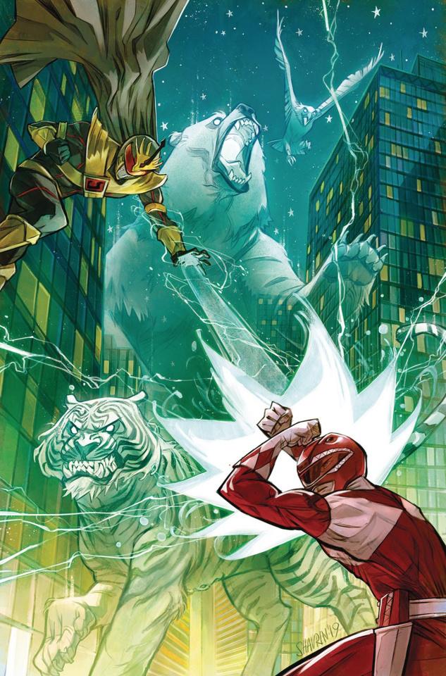 Go, Go, Power Rangers! #23 (Shavrin Cover)