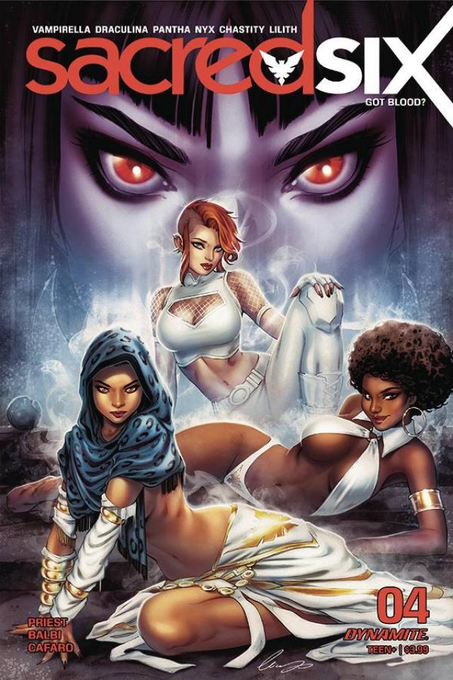 Sacred Six #4 (Chatzoudis Cover)