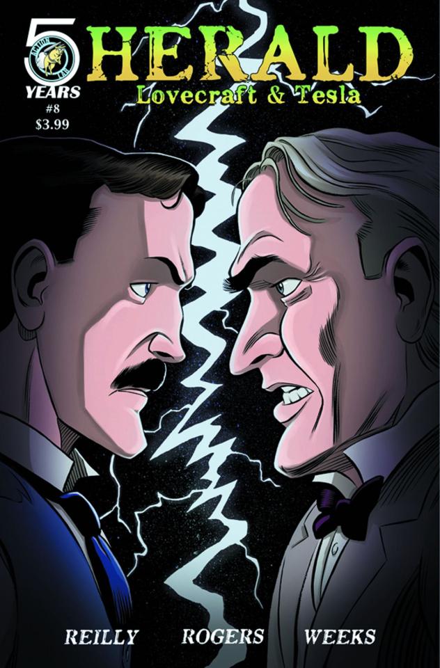 Herald: Lovecraft & Tesla #8