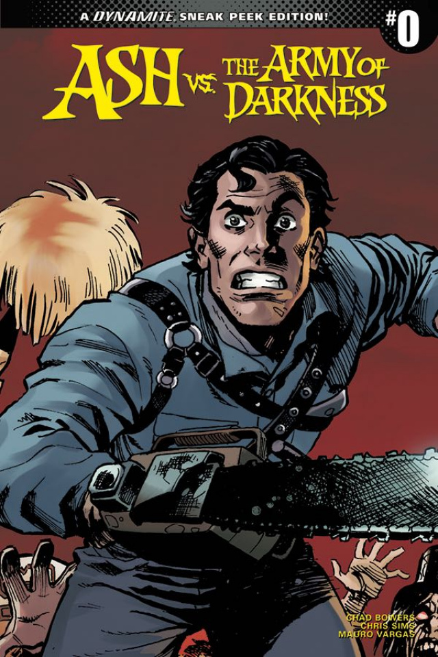Ash vs. The Army of Darkness #0 (10 Copy Brown Sneak Peek Cover)