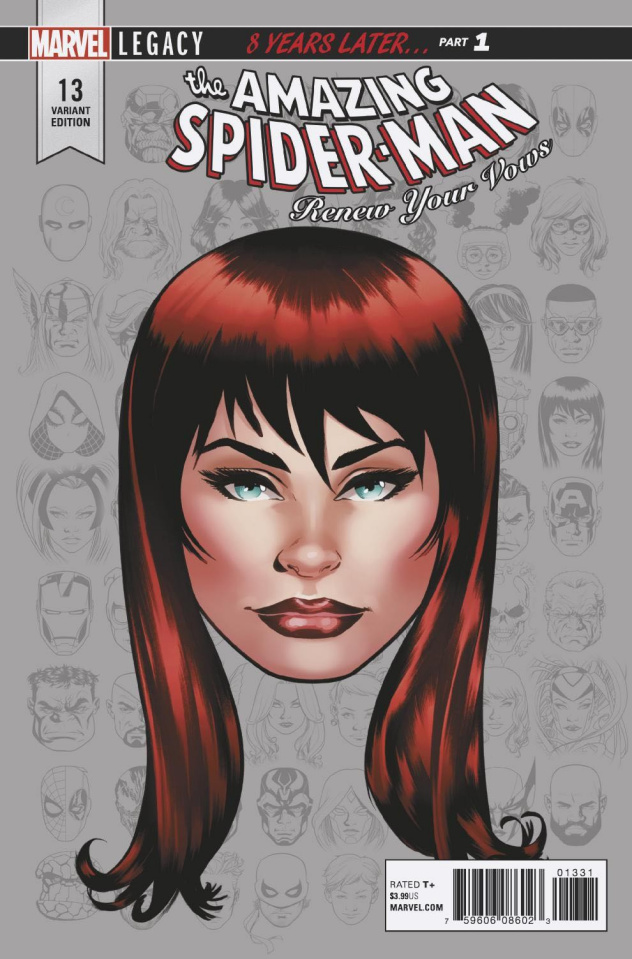 The Amazing Spider-Man: Renew Your Vows #13 (Legacy Headshot Cover)