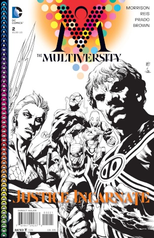 Multiversity #2 (Black & White Variant)