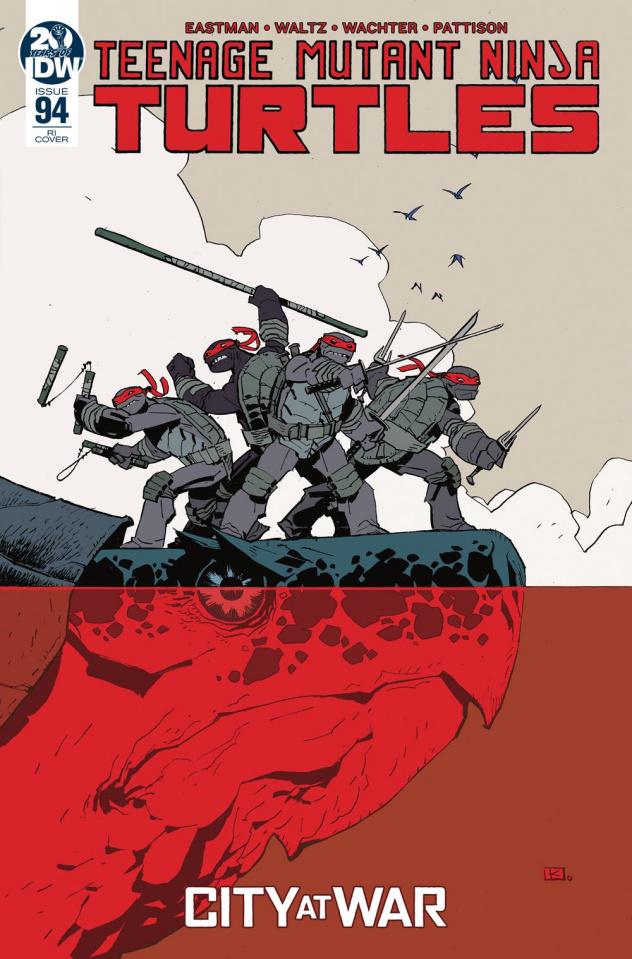 Teenage Mutant Ninja Turtles #94 (10 Copy Kuhn Cover)